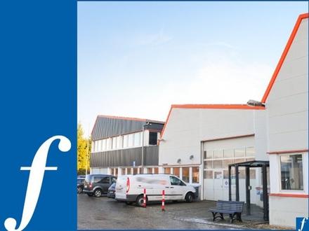 Mehrere Produktions- und Lagerhallen * Bürogebäude * 10 km von A8