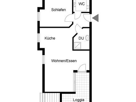 Kapitalanlage gewünscht? Moderne DG-Wohnung in Endersbach ...!