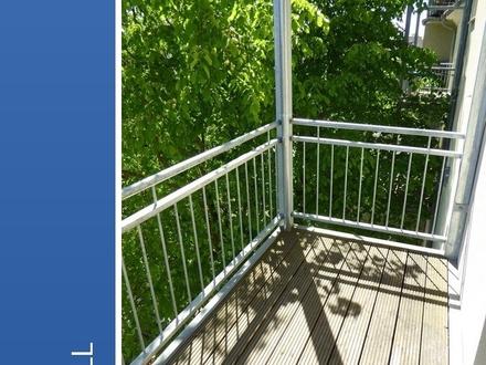 2-Raum-Wohnung mit Balkon in der City von Schwerin