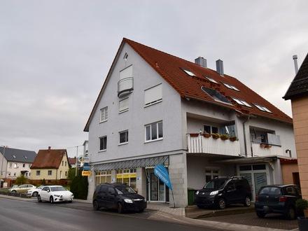 Gepflegte 3-Zimmer-Wohnung mit Balkon und Garage