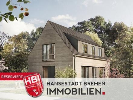Worspwede / Bötjerscher Hof - Großzügiges Einfamilienhaus in Holzrahmenbauweise mit Garten