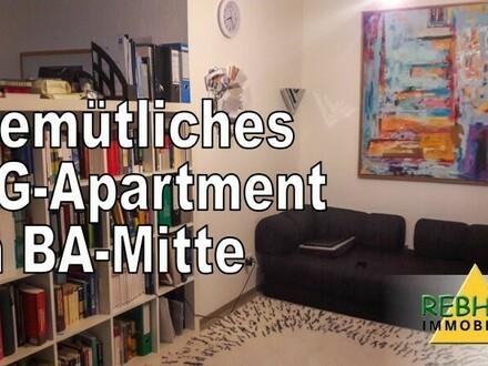 KURZFRISTIG FREI - gemütliches 1-Zimmer-Dachgeschoss-Apartment mit Einbauküche in zentraler Lage von Bamberg
