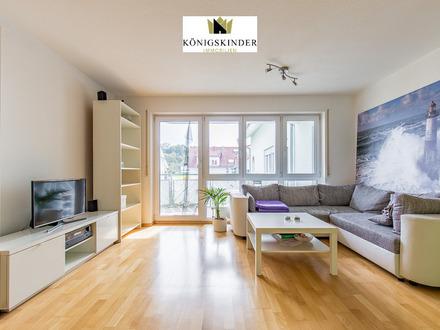 Gepflegte 2-Zi.-ETW mit Balkon, offener Küche und Tiefgaragenstellplatz