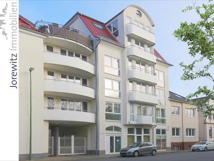 Bi-City: Moderne 3 Zimmer-Wohnung mit 2 Balkonen; Nähe Landgericht