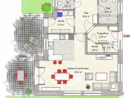 Neubau-Erdgeschosswohnung
