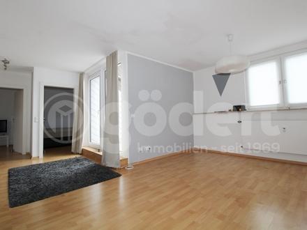 Schöne 3- Zimmer-Wohnung mit Loggia in Schweinheim!