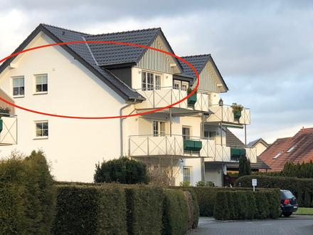 Chic im Dachgeschoss 3-Zi.-Wohnung mit Balkon und Stellplatz