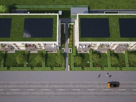 Maisonette Wohnung mit 4 Zimmern, Terrasse und Garten