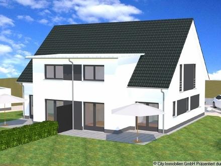 Neubauvorhaben! Schlüsselfertige, moderne Doppelhauslhälfte in Weiden!