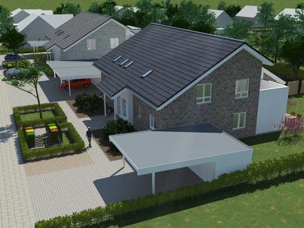 Neubauwohnung im 4-Familienhaus in grüner Lage von Bohmte EG re. **Reserviert**