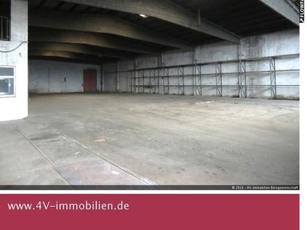 1150 qm Lager- oder Produktionshalle mit großen Toren inkl. Werkstatt, Büro- und Sozialräumen
