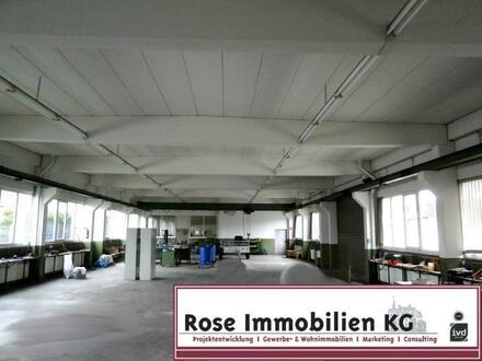 ROSE IMMOBILIEN KG: stützenfreie Produktionshalle mit 2t. Kranbahn in Bad Salzuflen!