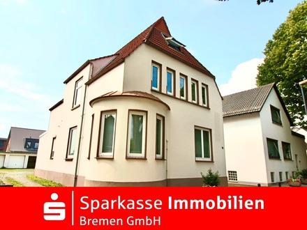 Teilvermietetes Mehrfamilienhaus mit Garagenhof und freier Gewerbeeinheit in Grohn