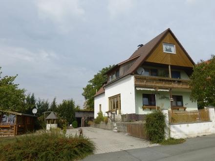 Einfamilienhaus mit schöner Aussicht ins Grüne in Kulmbach - mit 360°-Grad Rundgang online
