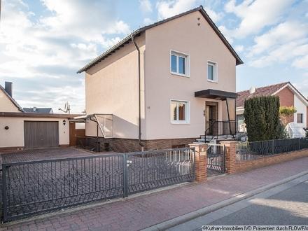 Unverwechselbares, freistehendes Einfamilienhaus in Heßheim