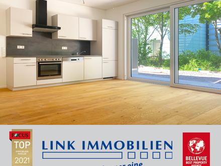 Killesberg - Erstbezug: Moderne 2-Zimmer Neubauwohnung mit Sonnenterrasse