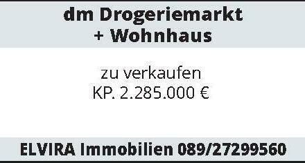 dm Drogeriemarkt + Wohnhaus