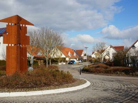 NEUBAUPROJEKT, Randlage in Ellwangen-Pfahlheim, ENERGIESTANDARD KfW 55