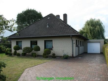 Objekt Nr: 20/921 Walmdachbungalow mit Garage im Seemannsort Barßel