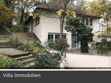 Sanierte Stadtvilla mit ELW, Garage und Garten im Villenviertel von Mainz-Gonsenheim