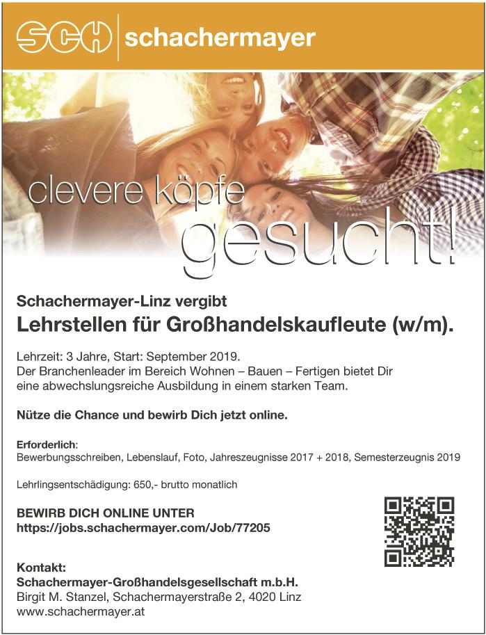 Schachermayer-Linz vergibt