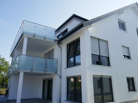 Moderne Terrassenwohnung Neubau mit Garage & Stellplatz