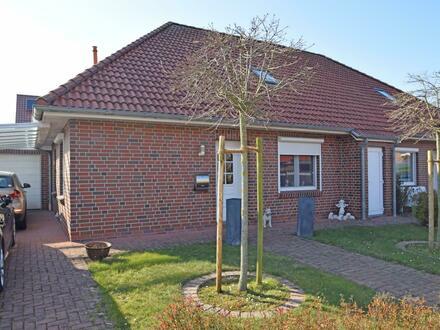 Hier erwartet Sie eine komfortable und moderne Doppelhaushälfte in Hage