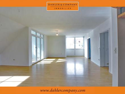 Leerstehende Maisonette-Wohnung mit Wintergarten in Augsburg - Haunstetten