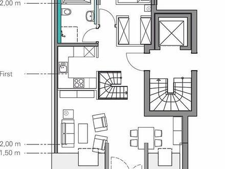 3,5-Zimmer-Maisonette-Wohnung mit Balkon in Planung, Stuttgart-Rohracker