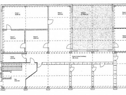 26_VB2316VH Halle (ca. 300 m²) und optional Büro mit Dachgarten (ca. 420 m²) / Regensburg - Ost