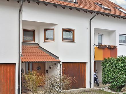 Reihenmittelhaus mit 5,5 Zimmern, kleinem Hausgrundstück und separatem Gartengrundstück in Altenriet
