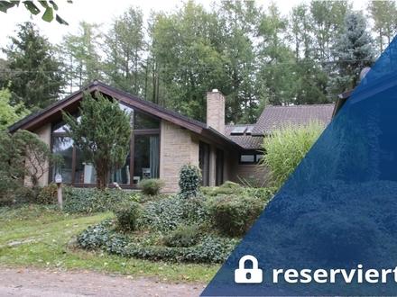 Hagen im Bremischen: 2 Architektenhäuser, kombinierbar, 3.729 m² Grundstück, Pferdestall, Obj. 5355