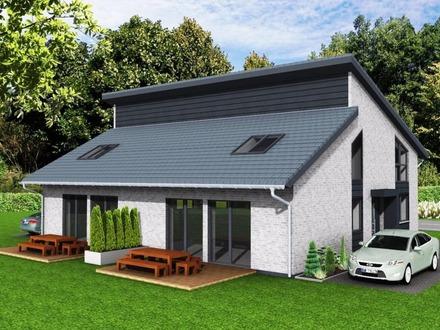 Neubau einer attraktiven und modernen Doppelhaushälfte