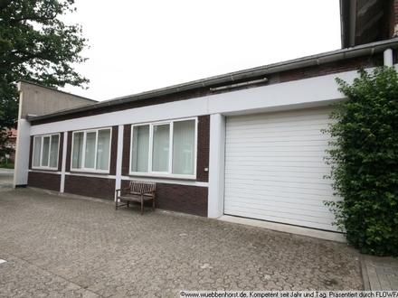 Gepflegte Bürofläche mit großzügiger Lagerfläche in Wardenburg