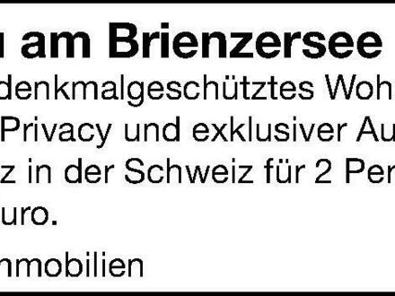 Wohnbijou am Brienzersee Schweiz