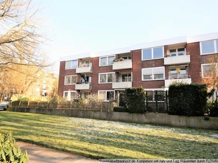 Gepflegte 2-Zimmer-Wohnung mit Loggia in Bürgerfelde