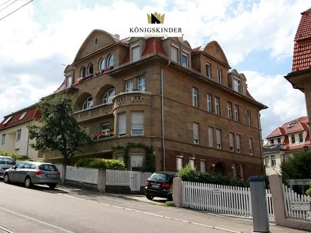 Traumhafte Jugendstil-Altbau-Wohnung in einer Mehrfamilienvilla in begehrter Halbhöhenlage von Stuttgart (Alte Weinsteige)