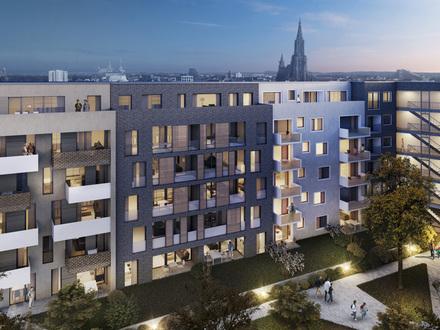Stilvolle EG-Wohnung mit Garten im Herzen Ulms - Erstbezug