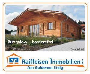 Bungalow-Neubau barrierefrei!