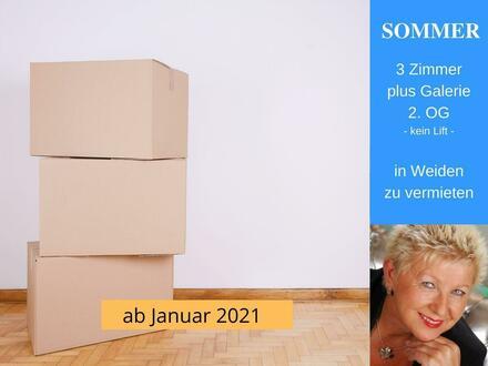 3 1/2 Zimmer Maisonette Wohnung Weiden