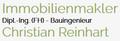 Immobilienmakler Dipl.-Ing.(FH) Christian Reinhart