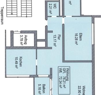 2 Zimmerwohnung in Altötting