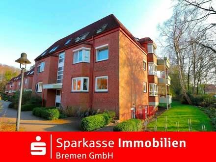 Traumhafte Wohnung mit eigener Garage und Blick ins Grüne - Bremen Schönebeck