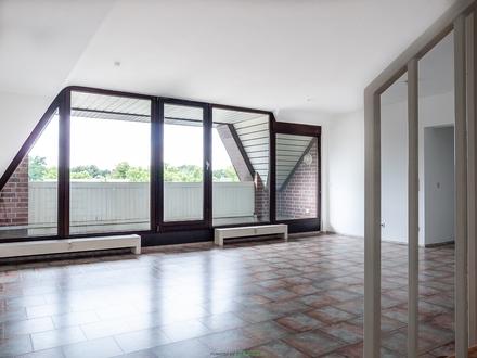 WOHNUNGSVERKAUF in Marl-Hüls: Großzügige Maisonette Wohnung mit Balkon auf 113m² Wohnfläche