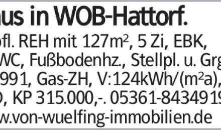 Gepfl. REH mit 127m², 5 Zi, EBK, Gä.WC, Fußbodenhz., Stellpl. u. Grg.,...