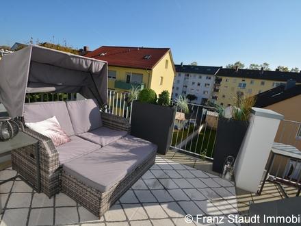 Modernes Wohnen in Top Innenstadtlage: Traumhafte 4-Zimmer-DG Wohnung mit Südloggia und Aufzug