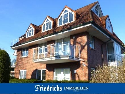 Gemütliche Obergeschosswohnung mit Balkon und Carport in Bad Zwischenahn