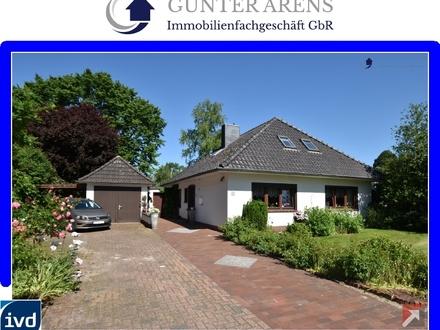 gepflegter Walmdachbungalow mit Garage und Garten in Westerstede