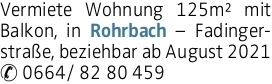 Mietwohnung in Rohrbach-Berg (4150) 125m²
