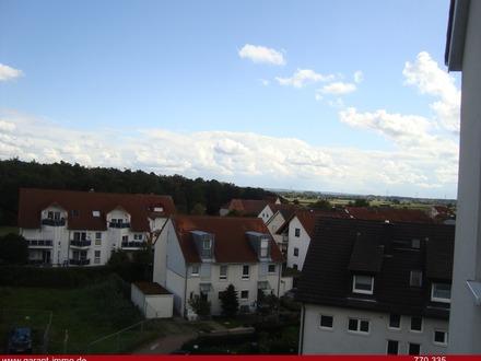 Blick über die Dächer und Felder
